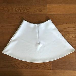American Apparel Skirts - American apparel brigitte white mini circle skirt